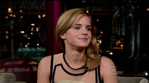 """Late Show with David Letterman"" - emma-watson Photo"