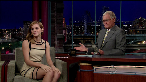 """Late Zeigen with David Letterman"""