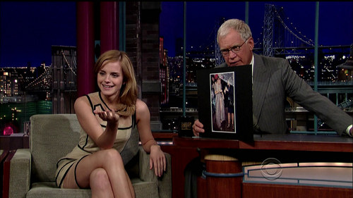 """Late mostra with David Letterman"""