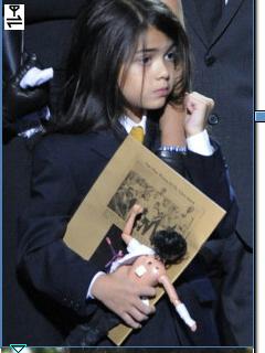 *Michael JacksoN Memörial MJ'S Kids: Paris, Prince & Blanket*