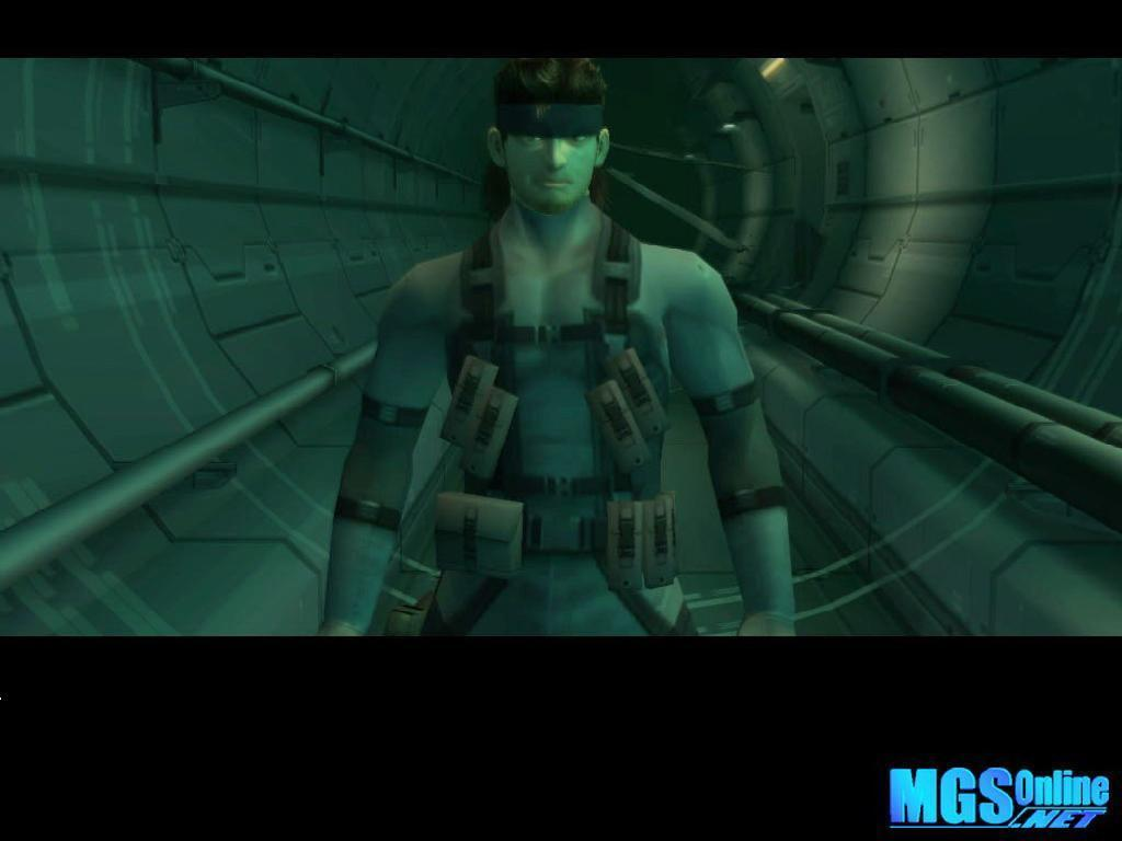 metal gear solid 2 images snake photo (2457476)