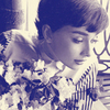 Audrey Hepburn photo probably with a portrait entitled AH