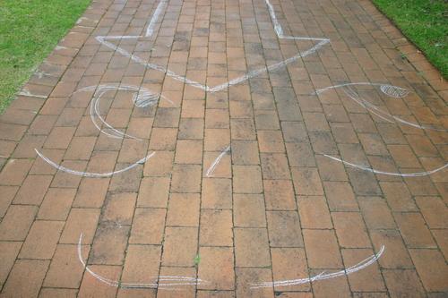 Aang the last Chalk bender