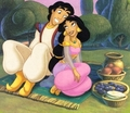 aladdin and jasmim