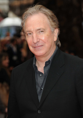 Alan Rickman - Harry Potter And The Half-Blood Prince / लंडन Premiere