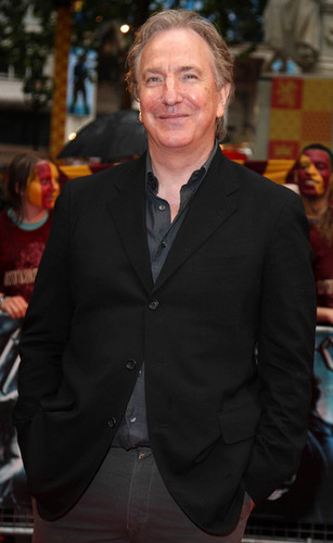 Alan Rickman - Harry Potter And The Half-Blood Prince / 런던 Premiere