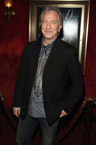 Alan Rickman - Harry Potter And The Half-Blood Prince / New York Premiere