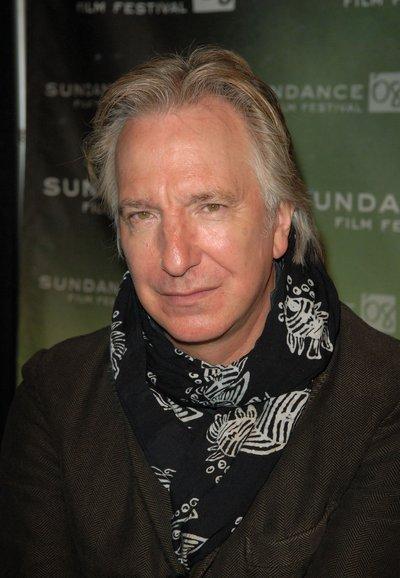 Alan Rickman - Sundance Film Festival