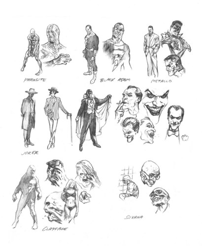 Alex Ross sketches