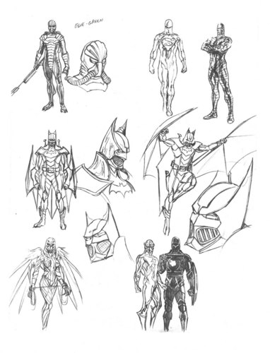 Alex Ross sketches