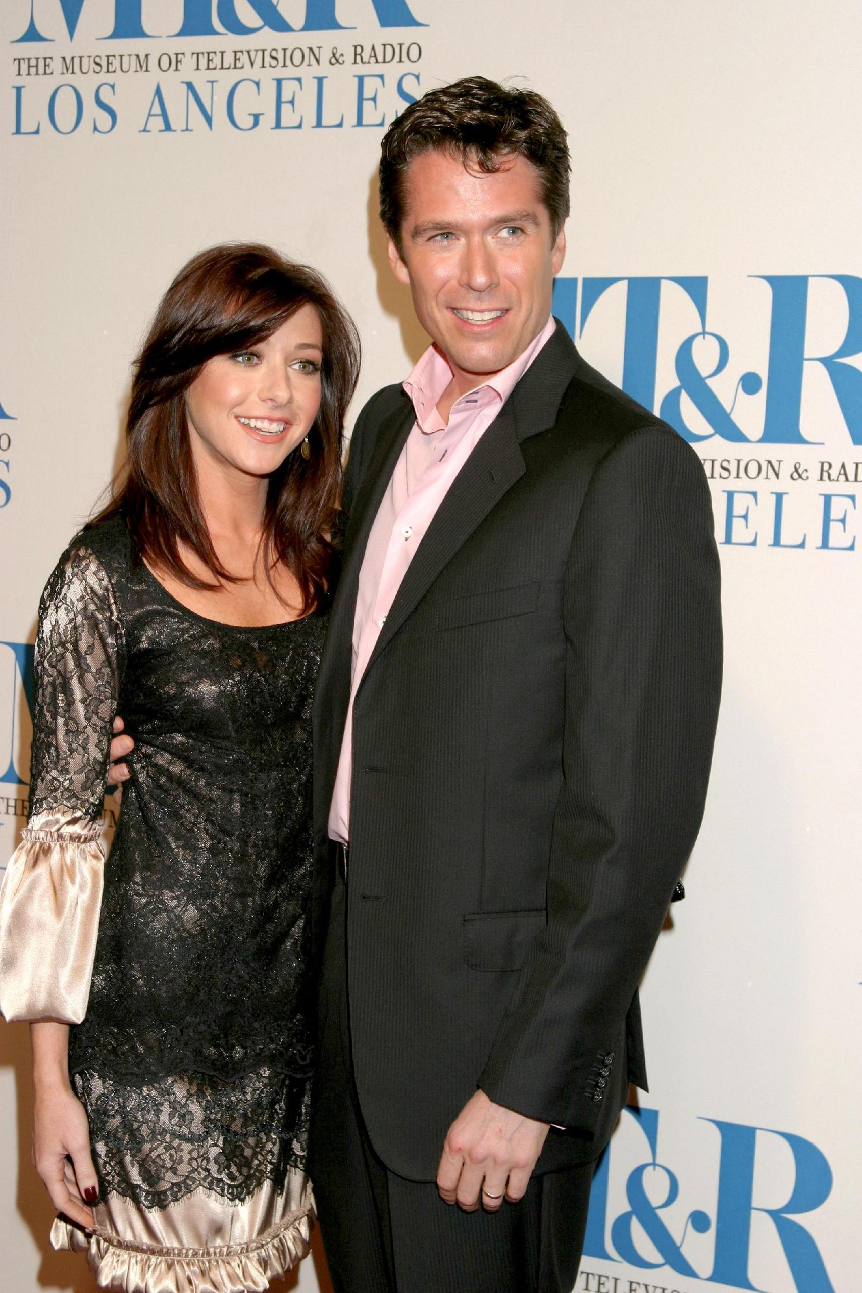Alexis Denisof with beautiful, cute, Wife