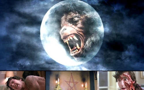 ホラー映画 壁紙 entitled American Werewolf
