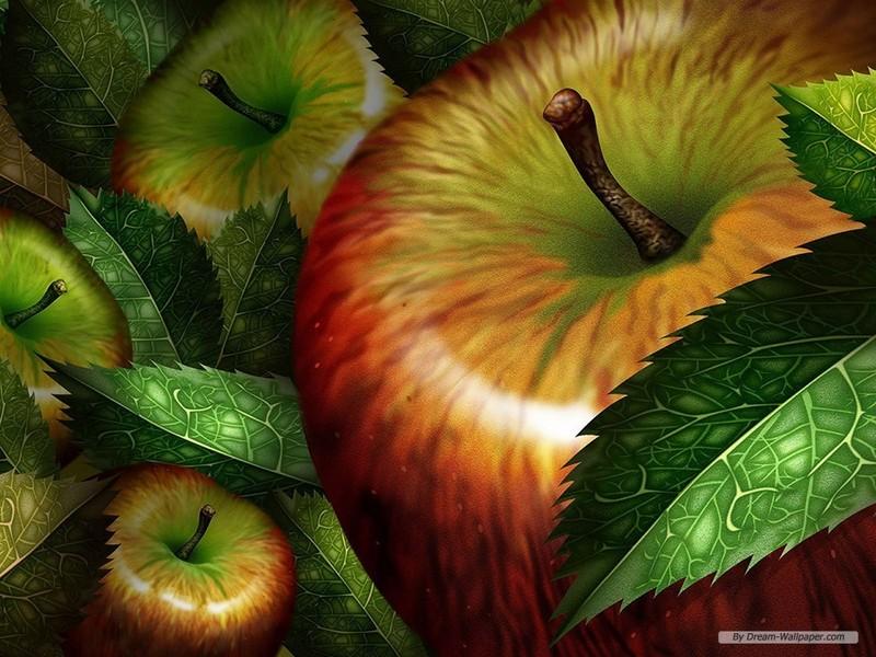 fruits wallpapers. Apple Wallpaper - Fruit