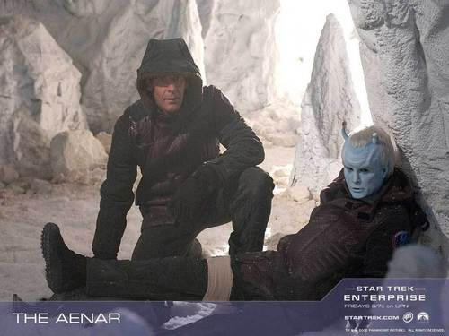 Archer & Shran official wallpaper