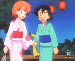 Ash and Misty will dance