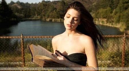 Ashley Greene photoshoot.