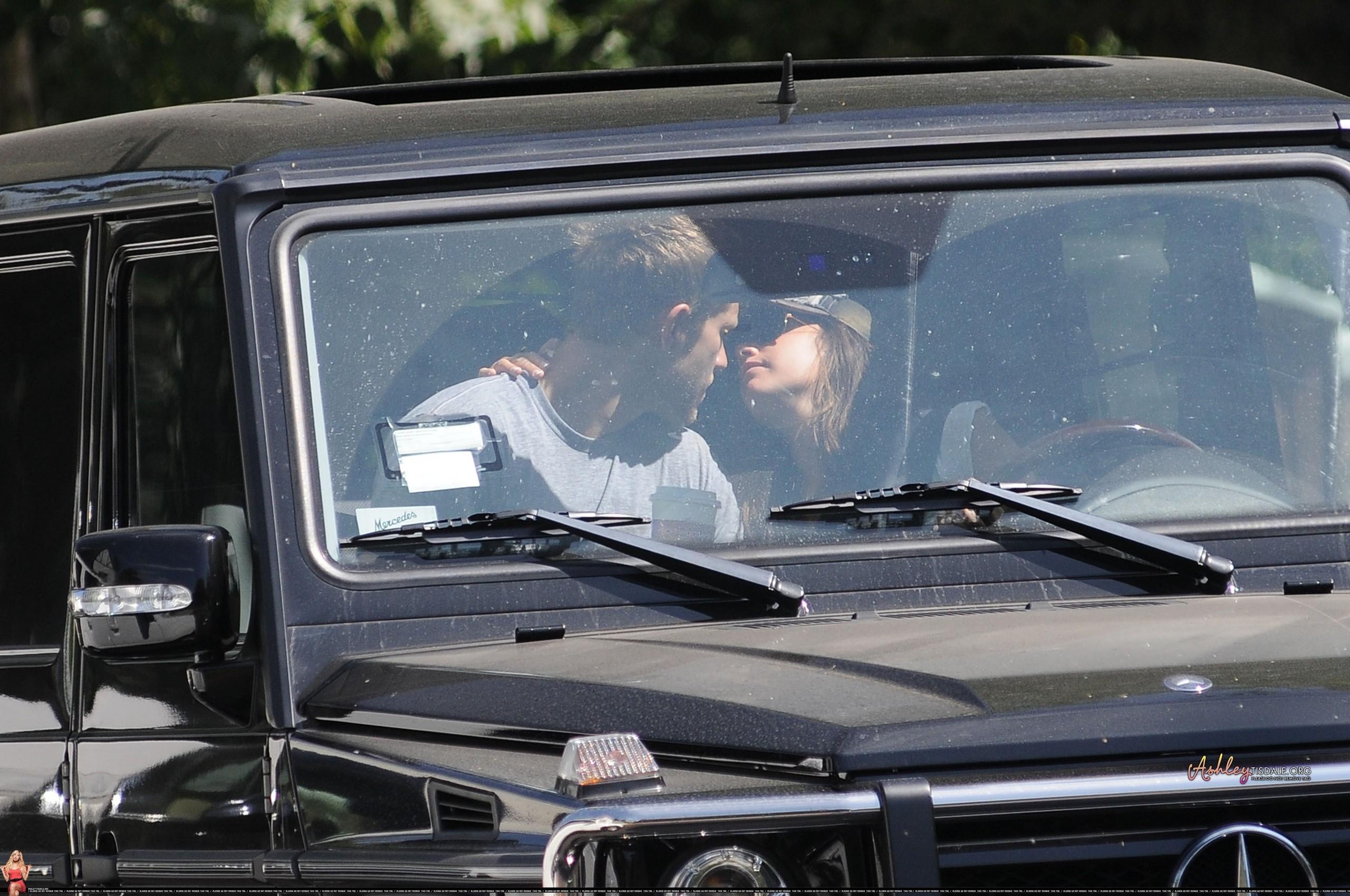 Ashley & Scott Kissing - ashley-tisdale photo