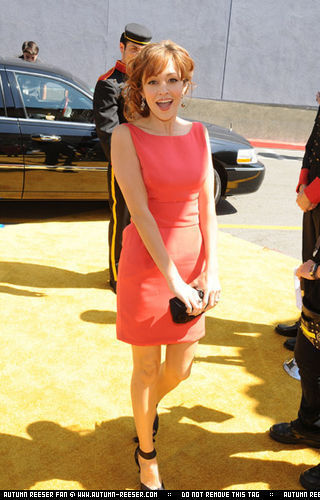 Autumn Reeser at the MTV Movie Awards 2008