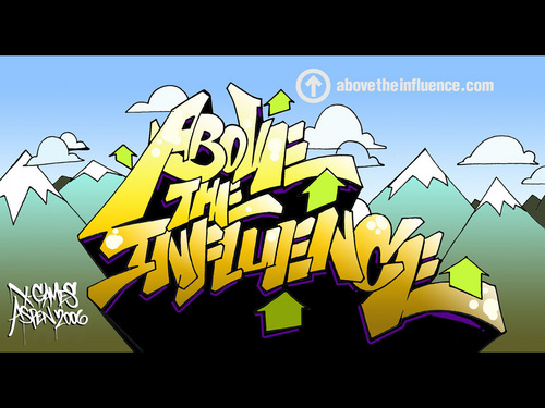 Above the Influence [teens] wallpaper possibly containing anime called Backround #1