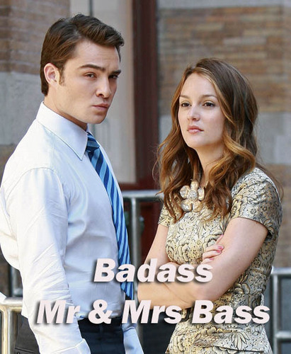 Badass Mr & Mrs Bass - gossip-girl Fan Art