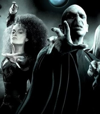 Беллатриса Лестрейндж Обои titled Bellatrix and Voldemort