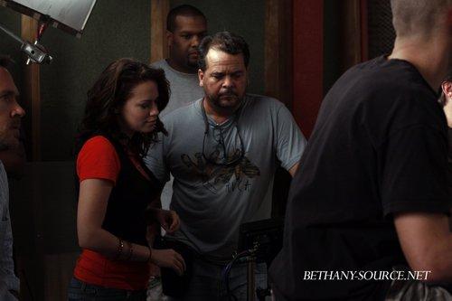 Bethany Directing One Tree Hill 6.16