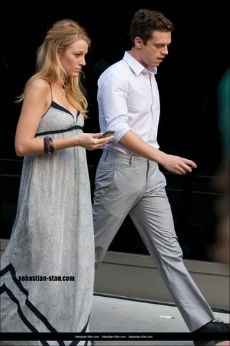 Blake/Sebastian Filming July 6th
