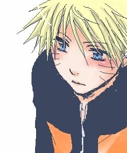 Blushing-Naruto