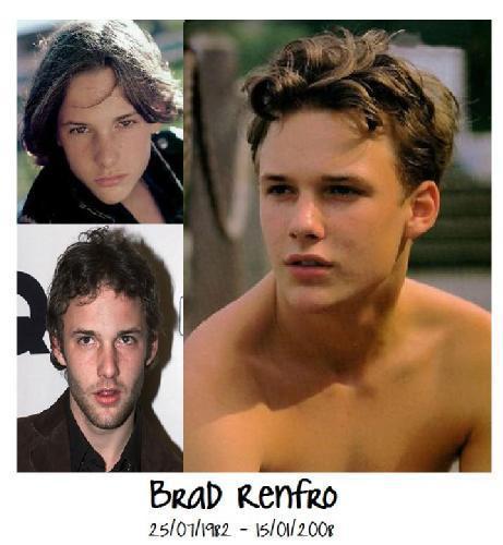 Brad Renfro collage