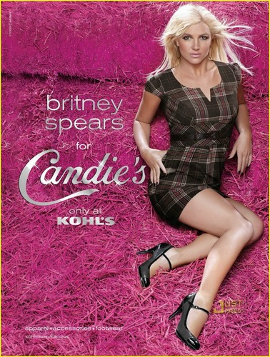 Britney- Candies Campaign