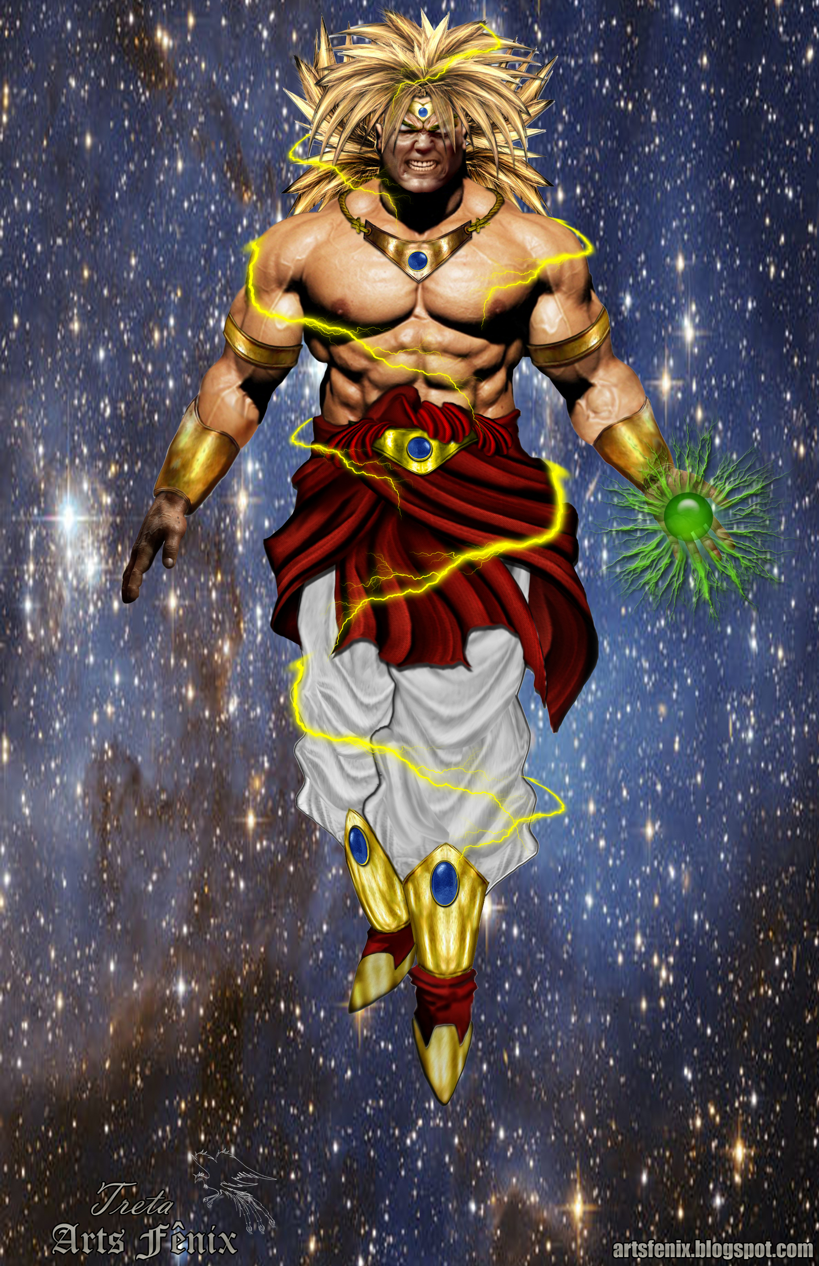 Broly real - Dragon Ball Z Photo (7086294) - Fanpop fanclubsdragonball z 