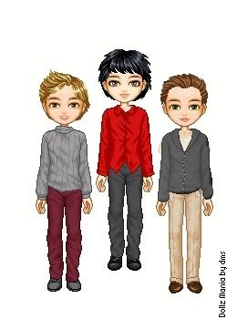 Caius,Aro and Marcus.