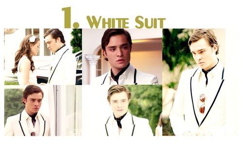 Chuck Bass top 5 season 2 outfits  - gossip-girl Fan Art