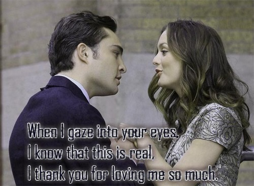 Gossip Girl wallpaper entitled Chuck & Blair love