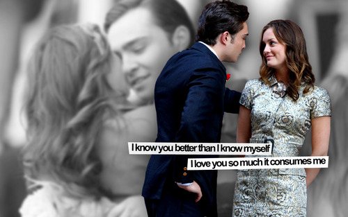 Chuck and Blair season3 fondo de pantalla