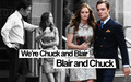 Chuck and Blair season3 wolpeyper