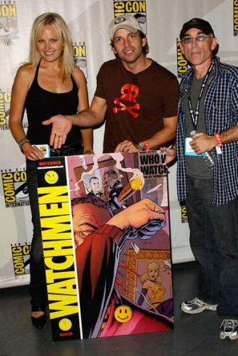 Comic Con 2007 -- Watchmen - O Filme Panel