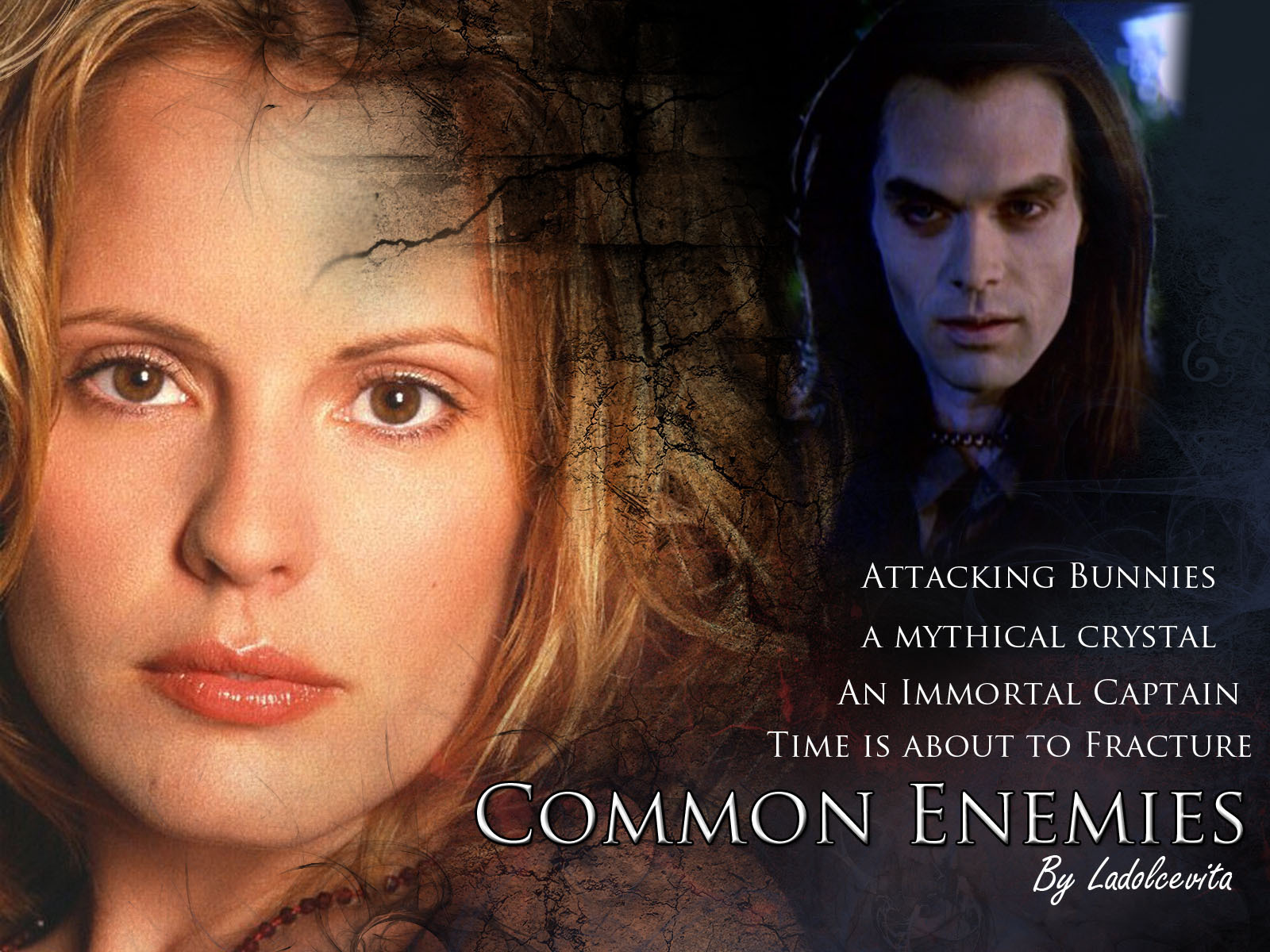 Common Enemies Fanfiction Wallpaper - Buffy the Vampire.