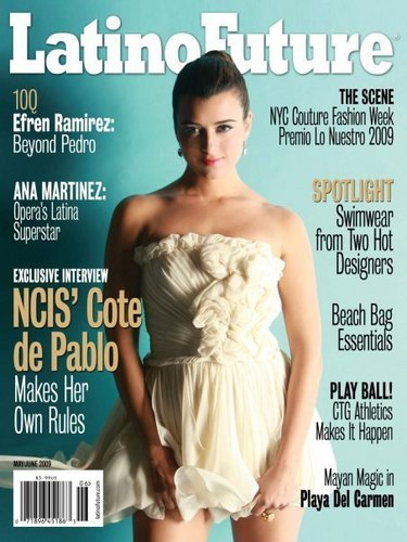 Cote de Pablo in 'Latino Future' Magazine