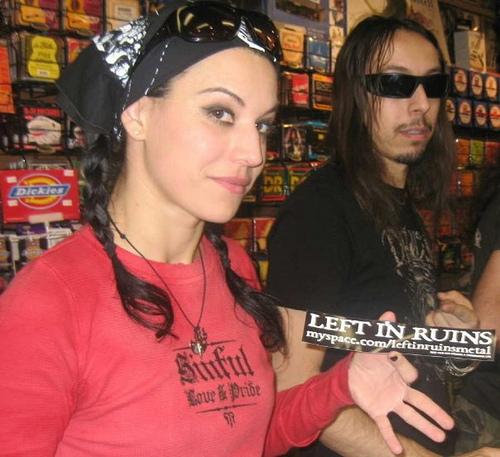 Cristina Scabbia and Andrea Ferro