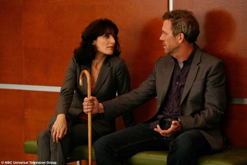Huddy wallpaper called Cuddy & House & THE CANE