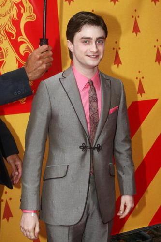 Daniel Radcliffe HBP UK Premiere