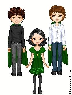 Demetri,Renata and Felix.