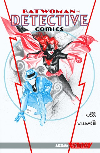 Detective comics reprint cover