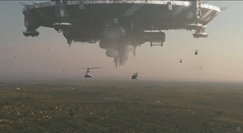 District 9 Motherships pistole Helicopters