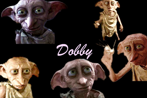 Dobby the House-Elf wallpaper possibly containing anime entitled Dobby Wallpaper