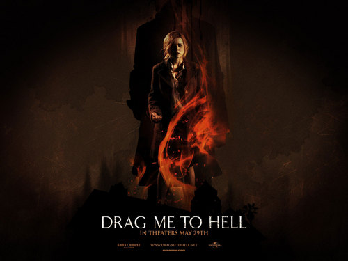 恐怖电影 壁纸 containing a 火, 消防 and a 火, 消防 called Drag Me to Hell