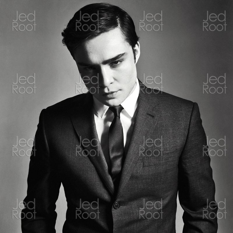 Ed Westwick Ed Interview magazine outtakes Ed Westwick