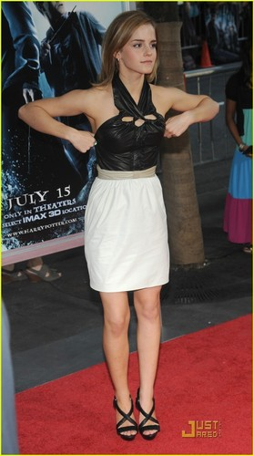Emma @ Harry Potter and the Half-Blood Prince premiere