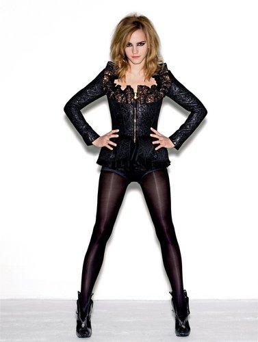 Emma Watson Elle UK August 2009